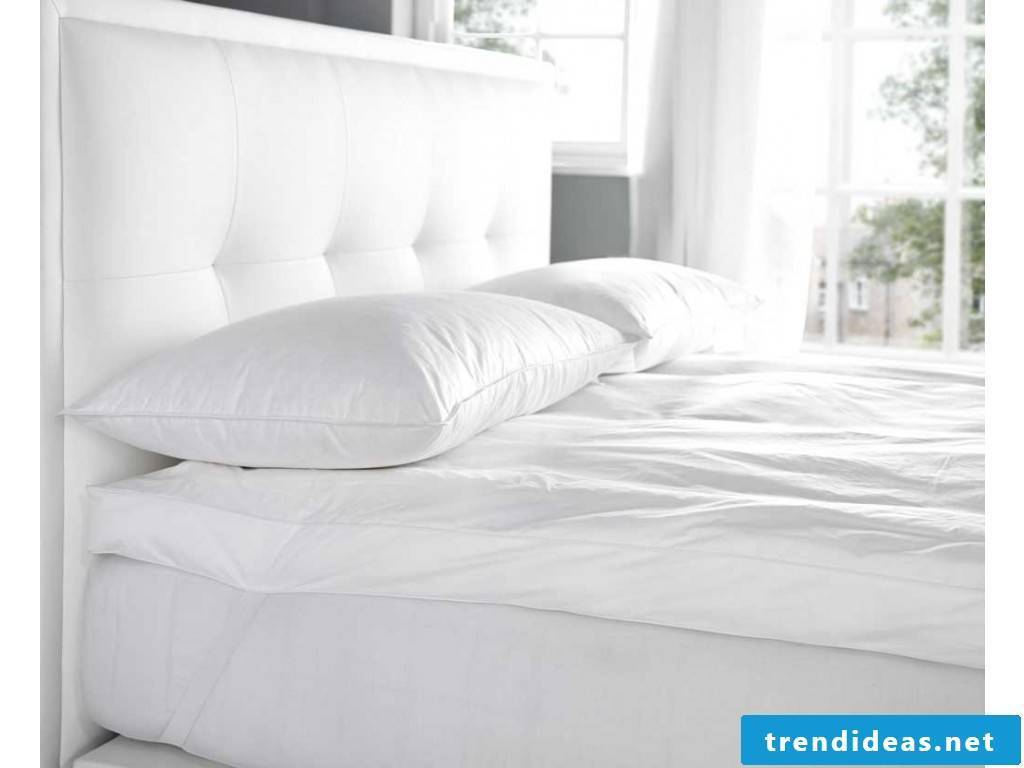 The different types of mattresses