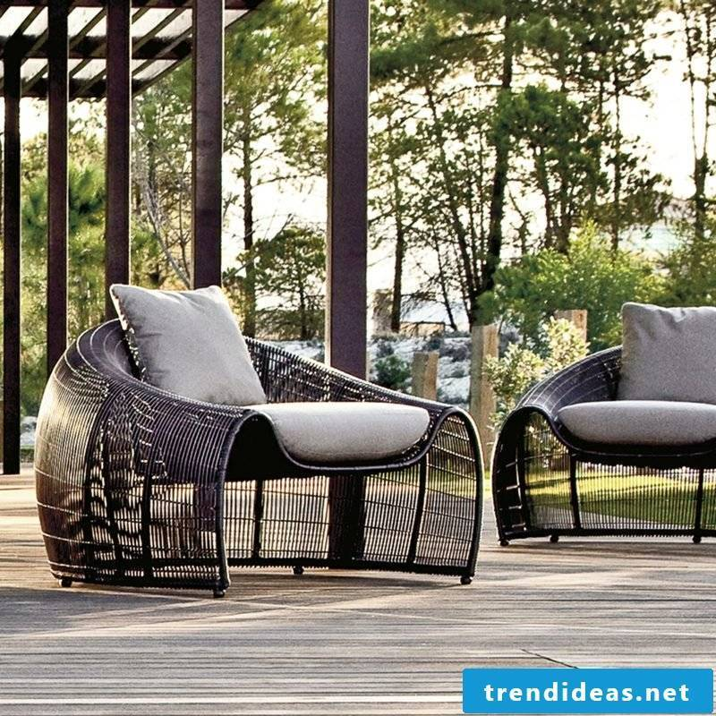 outdoor furniture outdoor best qualities polyrattan lounge
