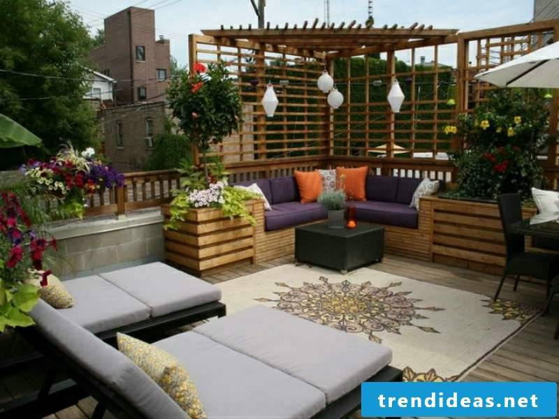 Loungemöbel outdoor cozy living rattan couch