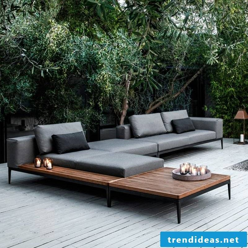 lounge furniture outdoor balcony furniture simple and stringent design