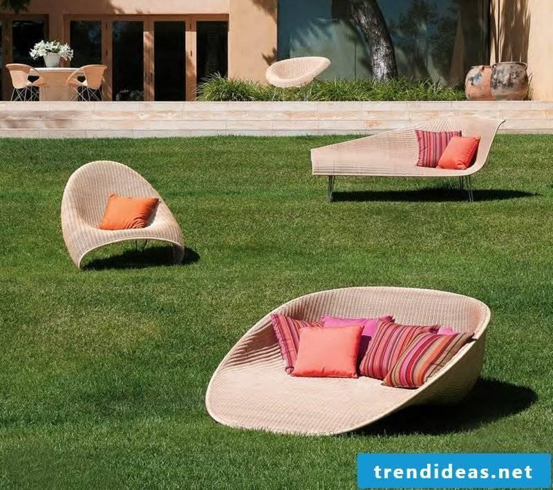 lounge furniture outdoor modern sunbeds garden lounge
