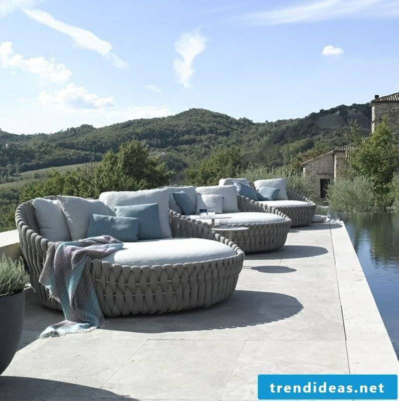 lounge furniture outdoor Modern garden lounge