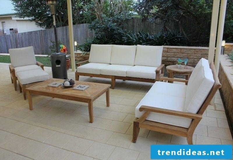 lounge furniture outdoor modern teak furniture