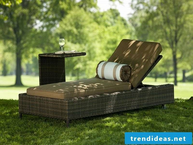 lounge furniture outdoor Modern rattan lounge