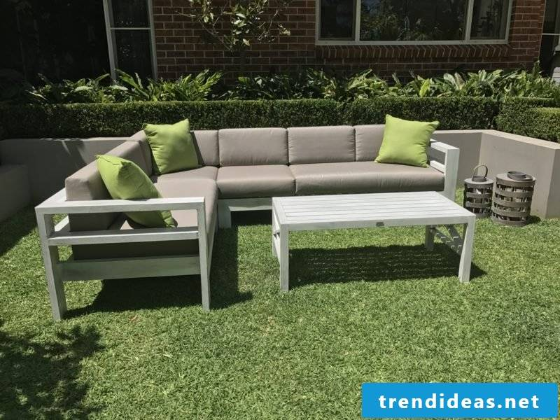 Loungemöbel outdoor paradise small corner couch
