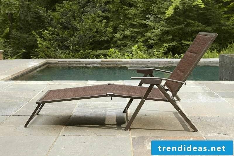 lounge furniture outdoor Paradise lounger garden sitting area