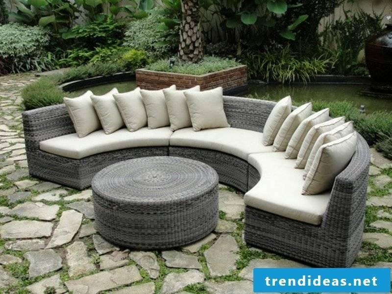 lounge furniture outdoor chic ratanmoebel polyrattan furniture