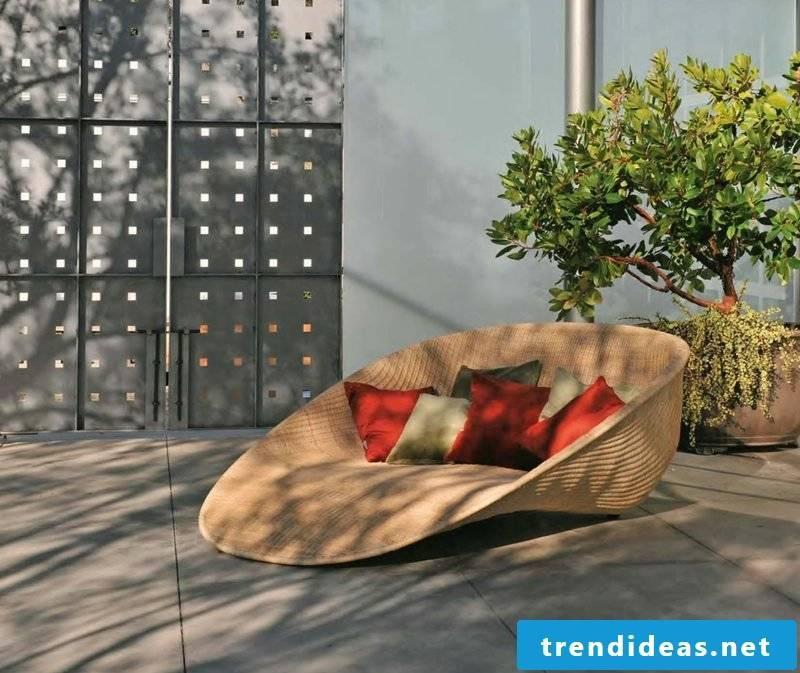 lounging furniture outdoor beautiful lounger rattan furniture garden