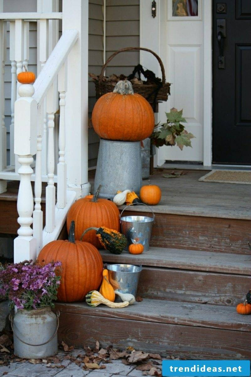 Handicraft Autumn Decoration House entrance