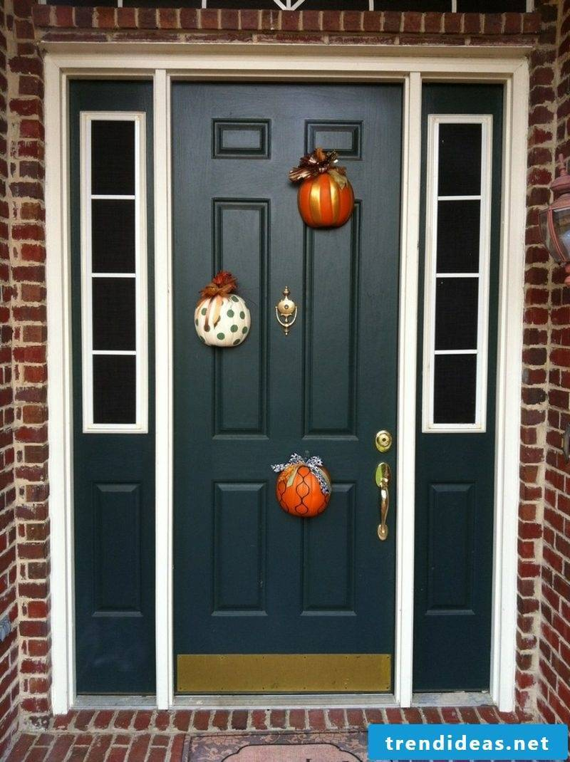 Autumn decoration for the house craft ideas with pumpkins
