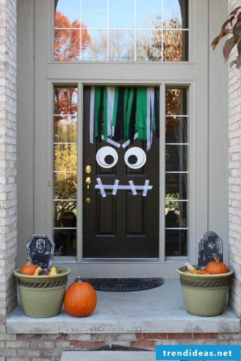 Herbstdeko Hausingang great crafting ideas Halloween