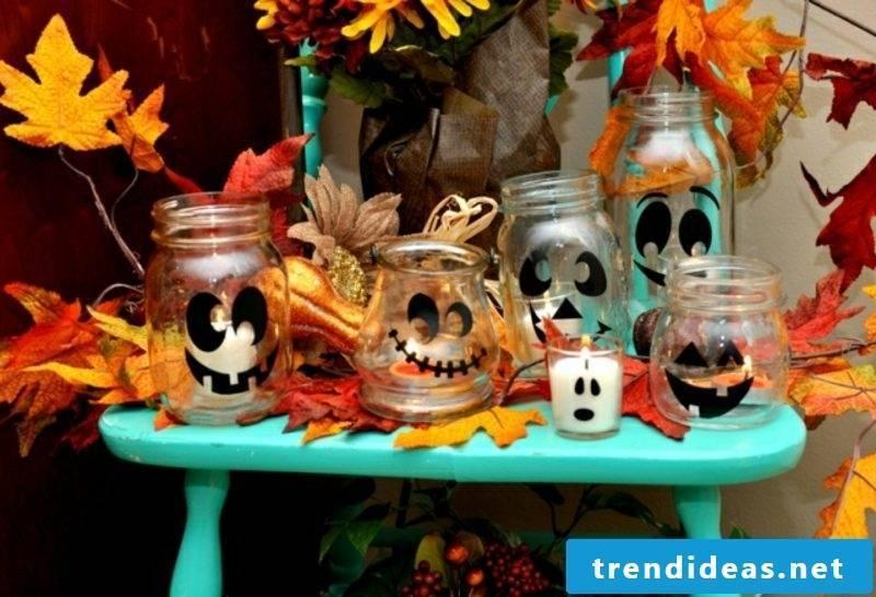 Autumn decoration for the house entrance halloween creative ideas