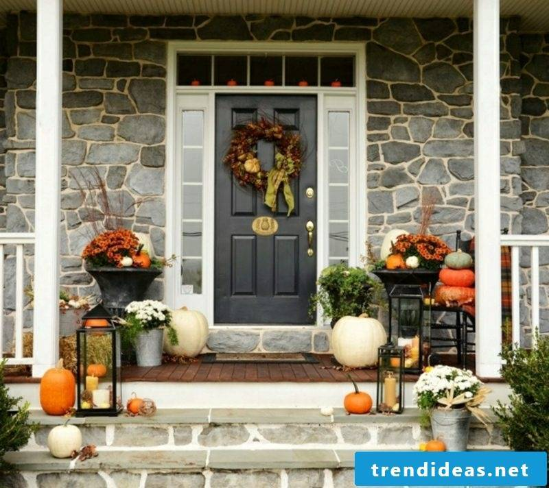 Autumn decoration for the house Ideas to imitate