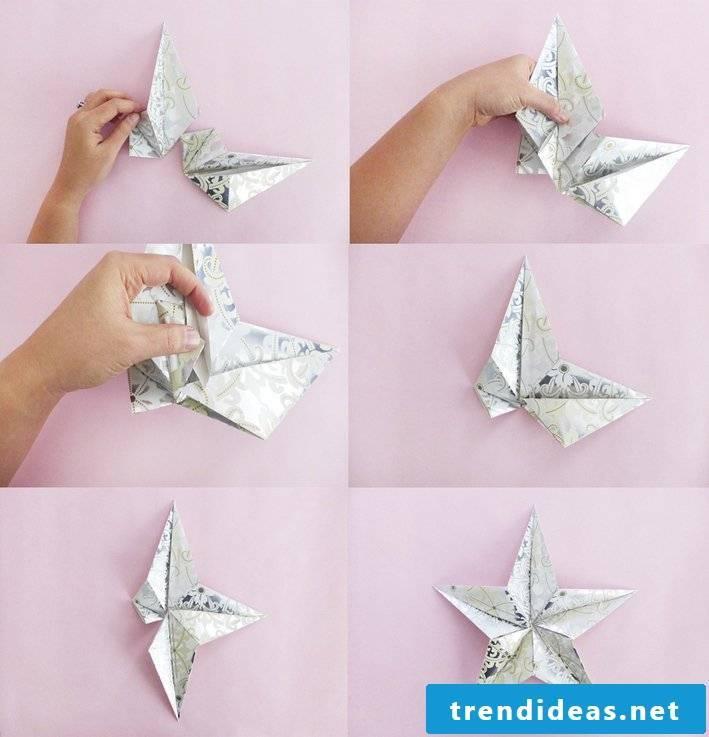 origami stars original