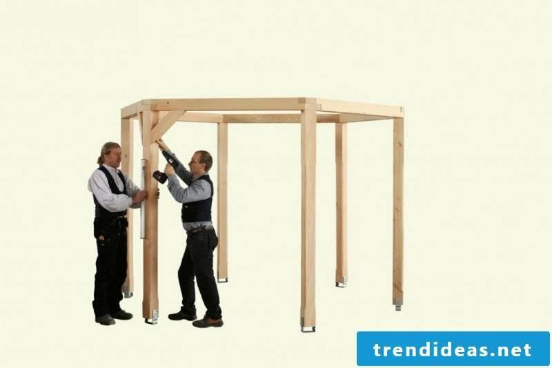 gazebo itself build instruction