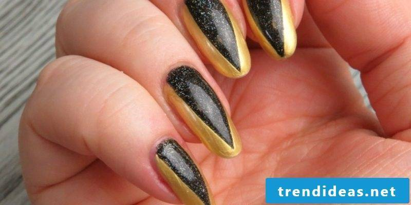 Nail art METALLIC