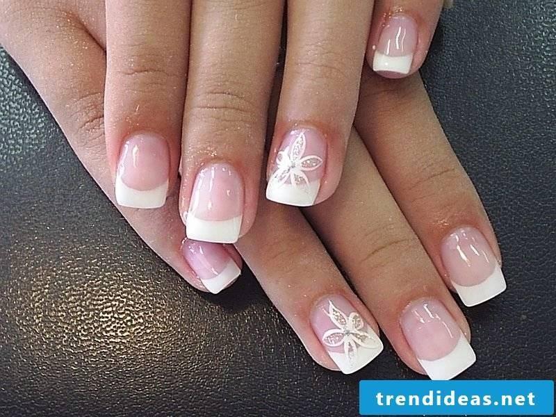 Nail art French idea