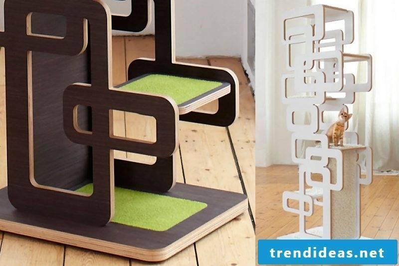 Cat furniture tree shelf