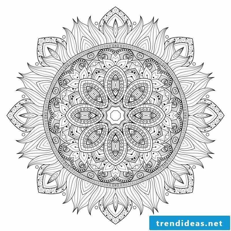 mandala templates healing effect