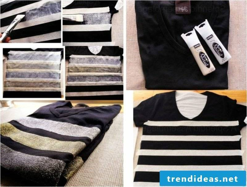 DIY ideas T-shirts self-print