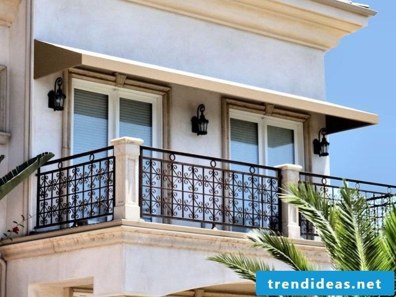 balcony awnings