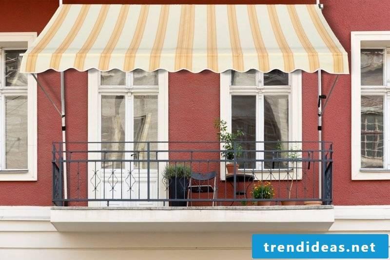 Balcony awning classic