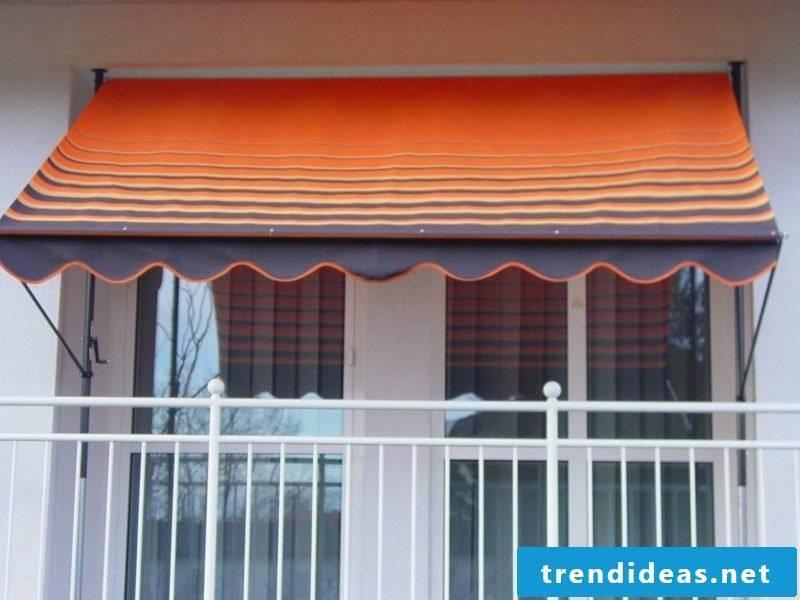 Balcony awnings creative ideas