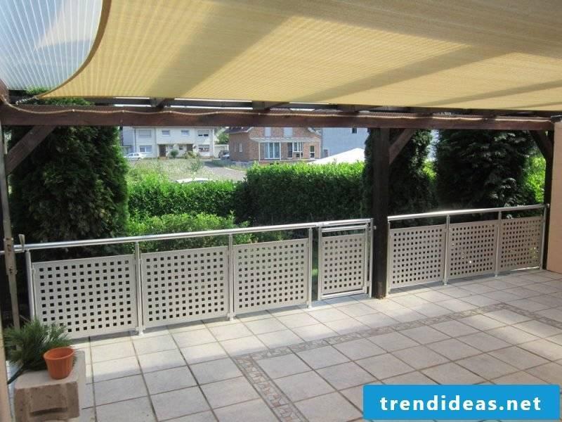 balcony panel metal