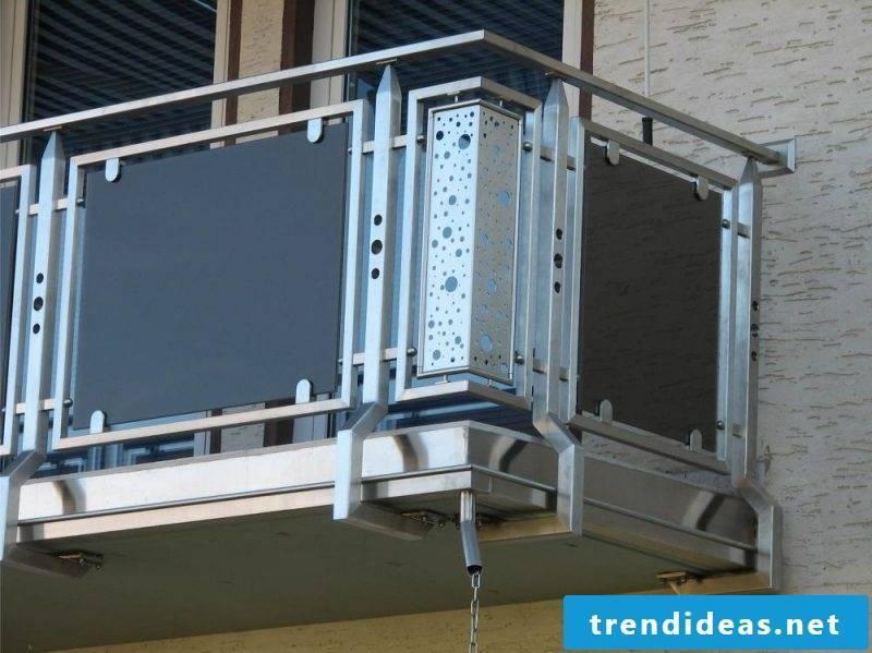 Balcony paneling modern