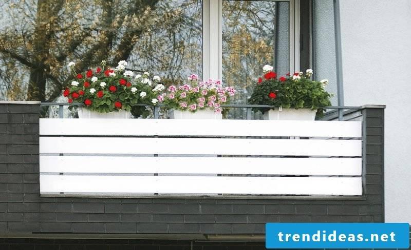 balcony cladding white
