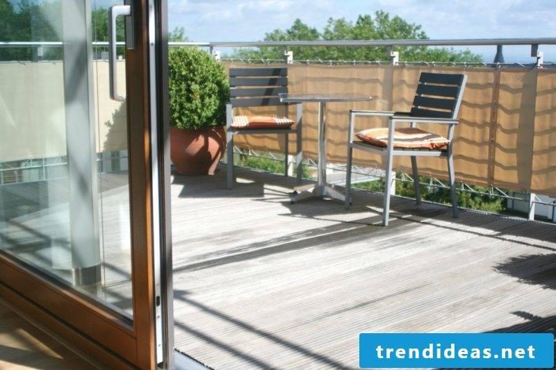 Balcony paneling creative