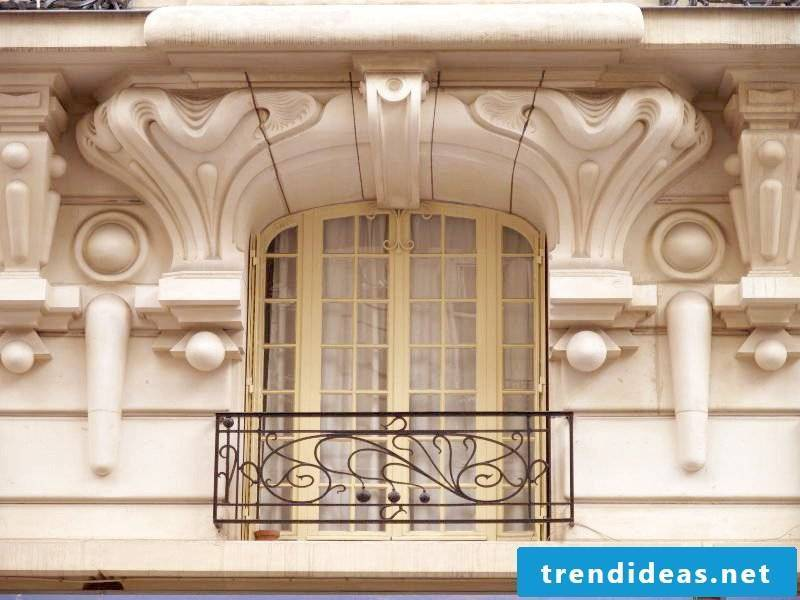 Balcony railing outdated