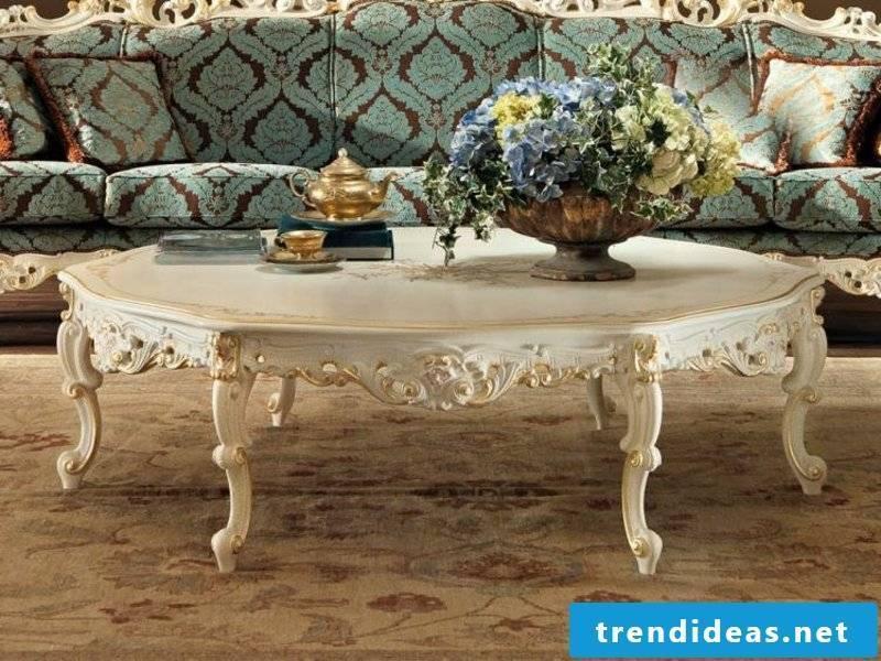 Baroque furniture living room furniture