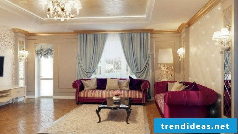 Baroque furniture magnificent living room