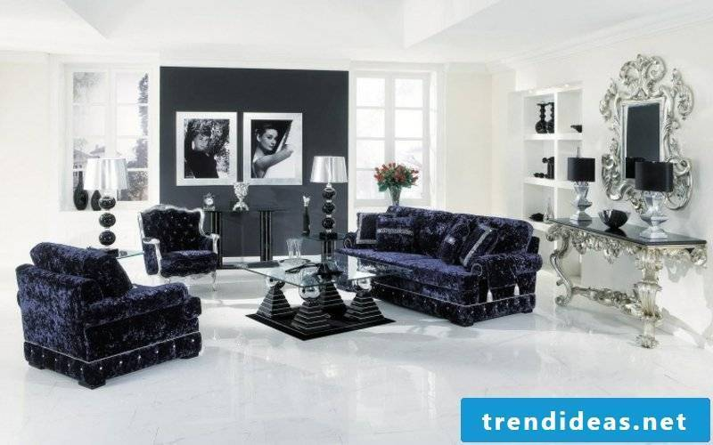 Baroque furniture as part of the modern decor