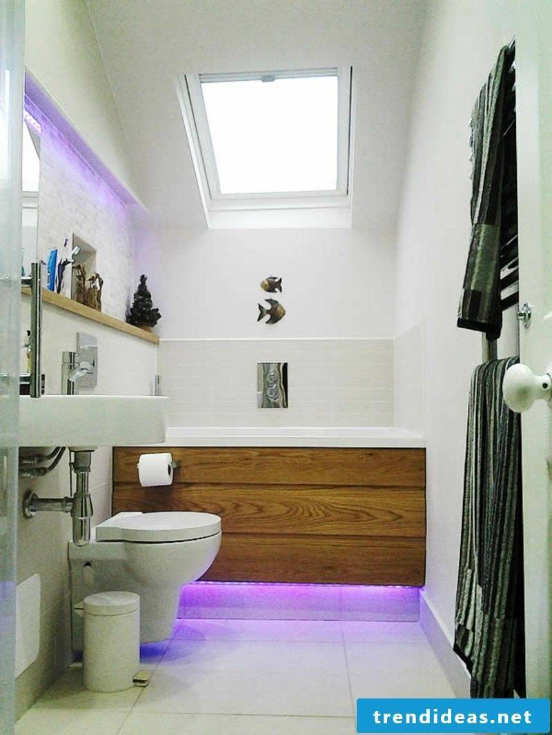 bath panel tub underlighting