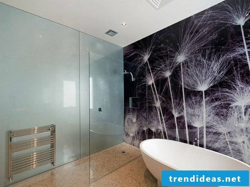 bathroom design and wall decoration