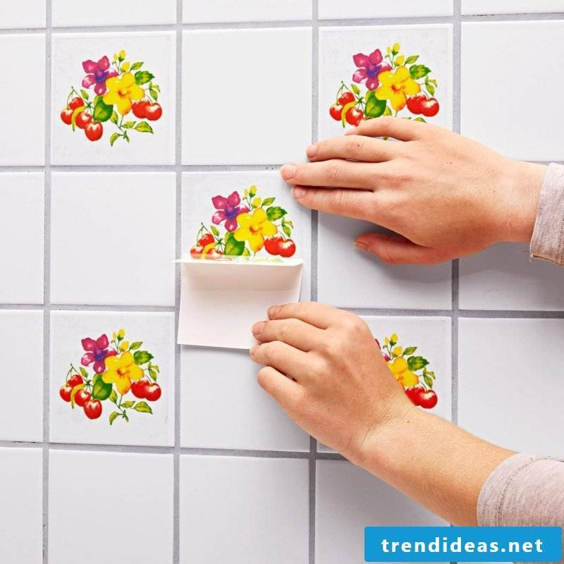 tile sticker for bath alive