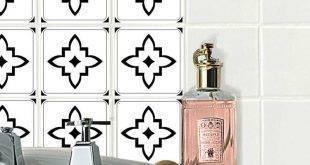 Bathroom tile stickers - 21 creative ideas for refreshment