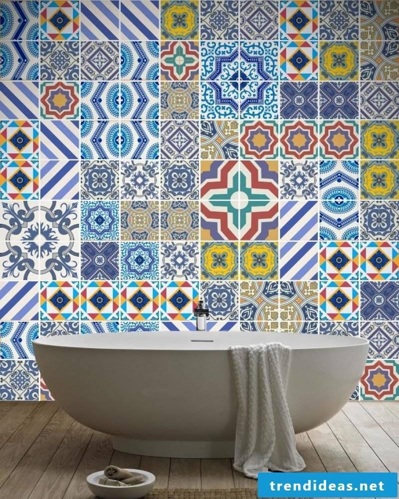 Tile sticker for bath favorable