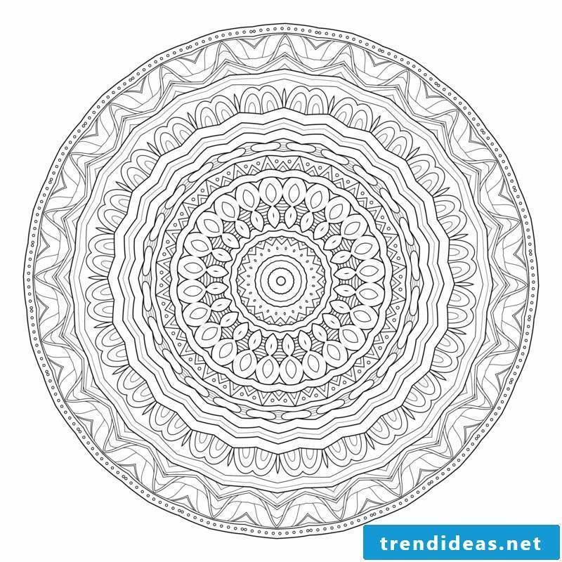 mandala template creativity