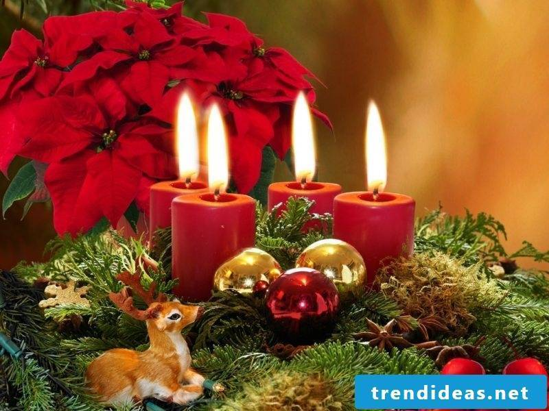 Advent wreath order traditional look