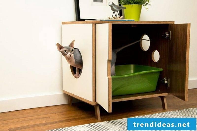 Cat furniture cabinet