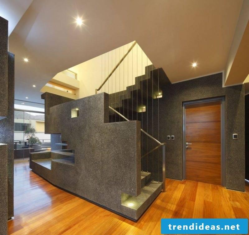Concrete staircase modern