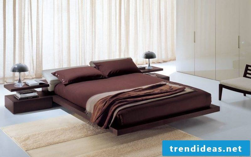Bed without headboard design