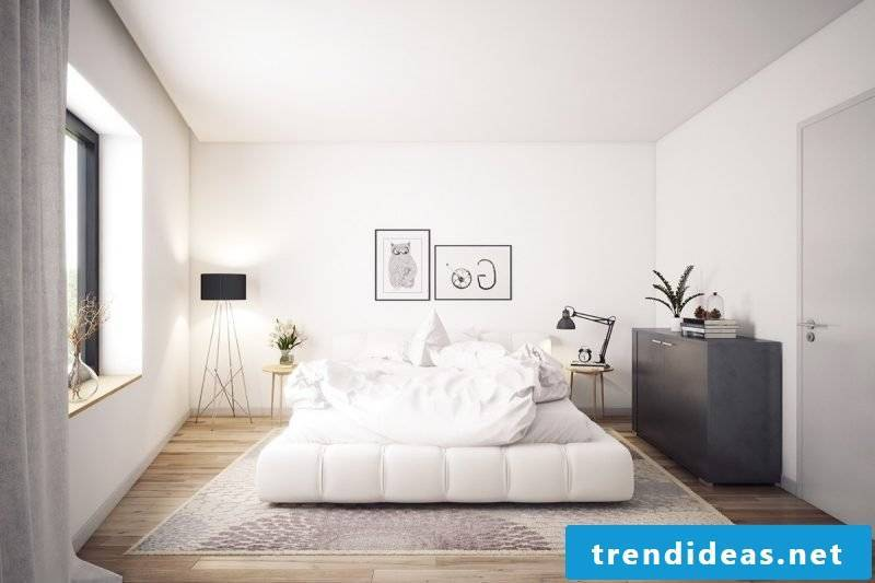 bedroom design home decor bright colors scandinavian style