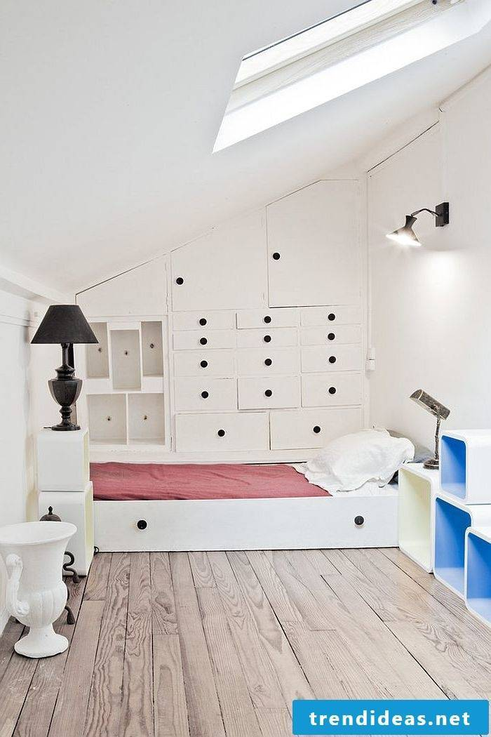 bedroom decorating ideas bed white lighting lamp