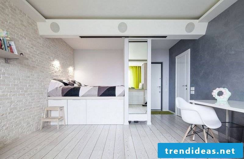 bedroom decorating ideas scandinavian style bed chair bedside furniture