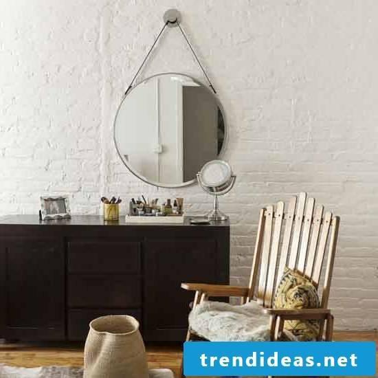 bedroom design ideas accessories furniture scandinavian style chair wooden mirror