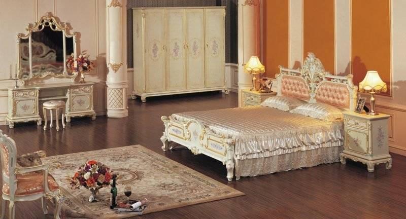Bedroom decorate original ideas Baroque style